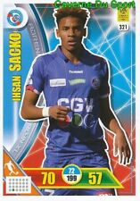 321 IHSAN SACKO RC.STRASBOURG CARTE CARD ADRENALYN LIGUE 1 2018 PANINI