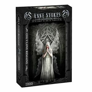 Anne Stokes - ONLY LOVE REMAINS - 1000 piece jigsaw