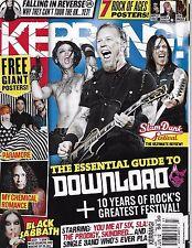 Kerrang music magazine Download guide Greatest rock festival Falling in Reverse