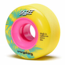 Orangatang Skiff 62 mm-Longboard Wheels - 86 A yellow