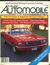 Collectible Automobile Magazine October 4 1988 Ford Mustang EX 050217nonjhe