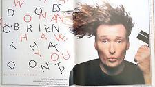 Rolling Stone Magazines No 743 Conan O'Brian R.E.M. John Mellencamp 1996