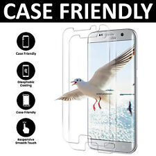 For Samsung Galaxy S7 Edge - 100% Genuine Tempered Glass LCD Screen Protector