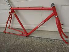 "20"" Vintage Specialized Rockhopper Mountain Bike Frameset Steel Red EXTRAS"