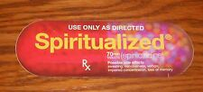 Spiritualized Ladies and Gentlemen We Are Floating in Space Sticker Promo 5.5x2