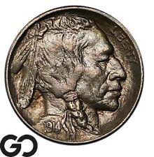 1914 Buffalo Nickel, Nice Gem BU++