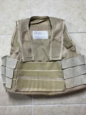 Protective Products International Tactical Vest Desert Camp Pattern