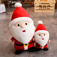 X-Mas Santa Claus Stuffed Plush Doll Christmas Tree Ornament Decoration Toy Gift