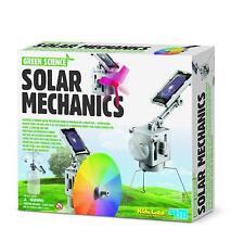Kit Educativo Solar Mecánica De Ciencia Verde por Kidz Labs 4M-Nuevo Y Sellado!