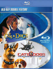 Cats  Dogs 1  2 (DVD) blueray double feature