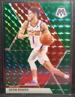 2019-20 Panini Mosaic ~DEVIN BOOKER~ GREEN Reactive Prizm Refractor SP #128