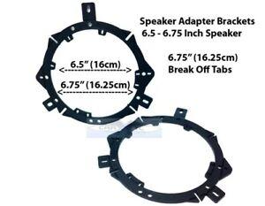 6.5 Car Speakers Front Door Adapters   Fits Both 6.5 158mm & 6.75 165mm C656F.B