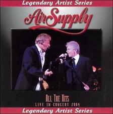 Air Supply : All the Hits Live CD