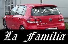 la familia ADESIVO AUTO LUNOTTO POSTERIORE MESSA PUNTO COFANO ITALIA PORTA