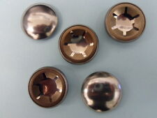 """50 No, 5mm, CAPPED, STARLOCK WASHERS. """"PUSH ON FASTENERS""""."""