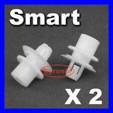 SMART CAR PANEL CLIPS PLASTIC FIXING REAR ARCH FORTWO CITY COUPE 450 MODEL WHITE