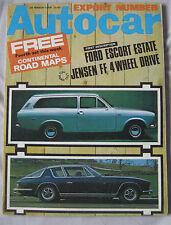 Autocar magazine 28/3/1968 Featuring Jensen road test, Ford Escort, Rover P6BS