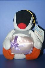"Pingu Penguin Pinga 20th Anniversary Plush doll BANPRESTO 6.8"""