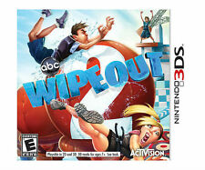 Wipeout 2 (Nintendo 3DS) w/Case & Manual 2DS XL Game