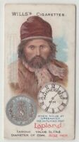 Lapland Norway Man 1900 Clothing Fashions Coin Norwegian 100+ Y/O Trade Ad Card