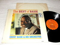"Count Basie ""The Best of Basie, Vol. 2"" 1969 Jazz LP, VG, Original Roulette"