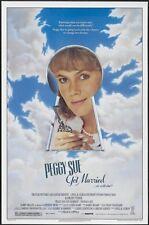 PEGGY SUE GOT MARRIED 27x41 Original Movie Poster One Sheet ROLL Kathleen Turner