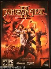 Dungeon Siege  II  Gas Powered Games - CIB - BOX w/key