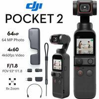 DJI Pocket 2 Touchscreen Handheld 3-Axis Gimbal Stabilizer Camera