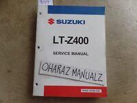 2009 SUZUKI LT-Z400 Service Manual OEM