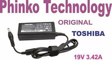 NEW Original Genuine Adapter Charger for Toshiba Laptops 19V 3.42A, 65W