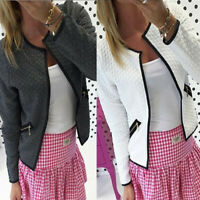 Hot Fashion Womens Ladies Suit Coat Office Blazer Long Sleeve Jacket Outwear