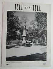 "Bell Systems Newsletter ""Tell & Tell""  May 1942"