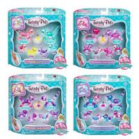 Twisty Petz Kids Bracelet Animal Figure Necklace Rings Series 3 - Family 6 Pack
