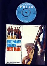 ABBA - Hootenanny Singers - Sjunger Evert Taube - 7 Inch Vinyl Single - SWEDEN