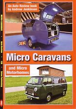 Book - Micro Caravans - Motorhomes Eccles Sprite Dormobile Danbury - Auto Review