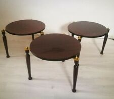 Tables rondes empilable -  vintage rare