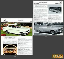 OLDSMOBILE série 98 Cabriolet / OPEL KADETT -  FICHE AUTO COLLECTION #J1 FRENCH