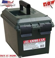 Ammo Can MTM Storage Case Military O-Ring Safety Box Plastic Army