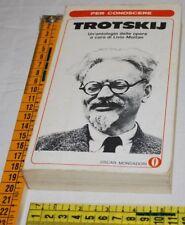 MAITAN Livio - PER CONOSCERE TROTSKIJ - Oscar Mondadori - libri usati