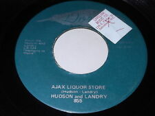 Hudson and Landry: Ajax Liquor Store / The Hippie & The Redneck 45 - Dore
