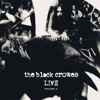 THE BLACK CROWES - LIVE-VOL.2 (180 GR. WHITE/BLACK VINYL) 2 VINYL LP NEW+