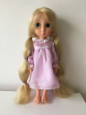 Disney Rapunzel First Edition Animator Doll Tinsel/Glitter Hair/Night Dress