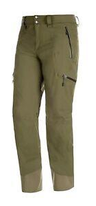 MAMMUT Mens Stoney Iguana Hardshell Pants Size EU48 US32