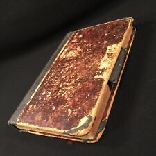 Antique Book Handwritten Diary Recipes Songs Music English German Make Good Beer