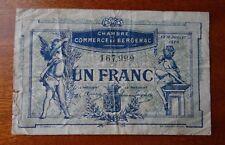 Billet de 1 Franc Chambre de Commerce Bergerac 1920