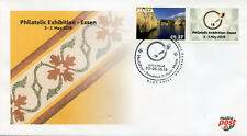 Malta 2018 FDC Essen Philatelic Exhib 1v Set + Label Tourism Architecture Stamps