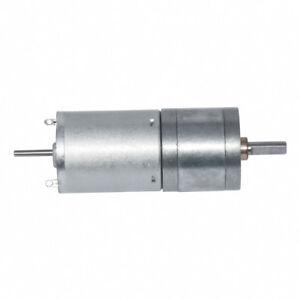 25GA370 DC Gear Motor 12V/24V 10~600RPM Lengthening shaft Installable Encoder