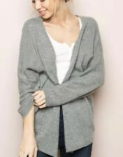 Brandy Melville Gray Wool Knit Open Front Cardigan Size S/M