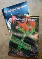 Pye TVT Philips Broadcast Tripodium