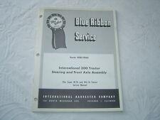 Ih International farmall 300 series tractor steering axle shop service manual